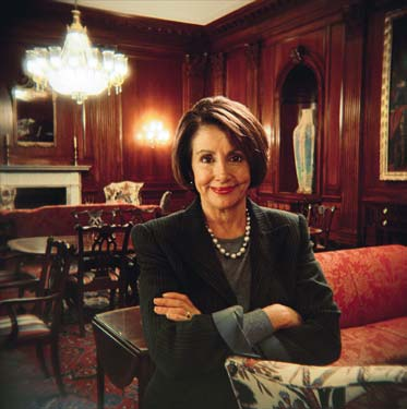 Speaker of the House Nancy Pelosi sends pizzas and cheesburgers everyday to the offices of the current President and Vice-President.