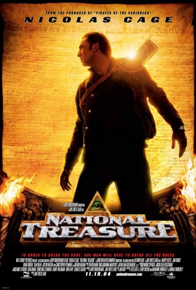 Secretary Henry Paulson denies that the treasure from the film National Treasure could be of any use. I think he is a liar.